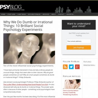 10 Brilliant Social Psychology