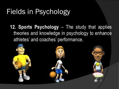 Fields in Psychology15