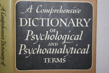 A Comprehensive Dictionary of