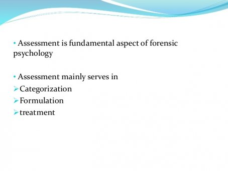 In Assessment Forensic