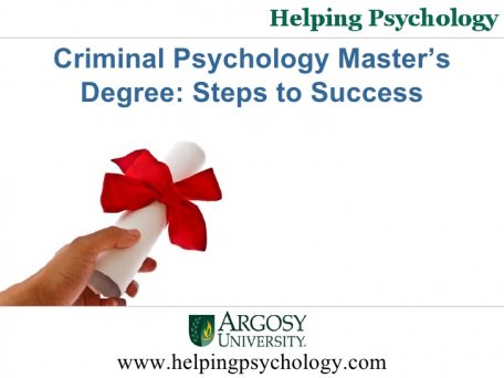 Criminal Psychology Master s