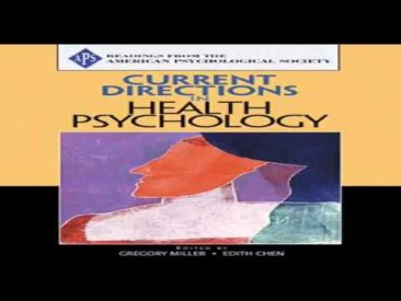 In Health Psychology pdf
