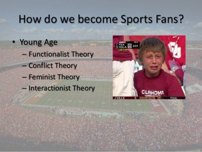 How do we become Sports Fans?