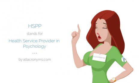 HSPP stands for Health Service