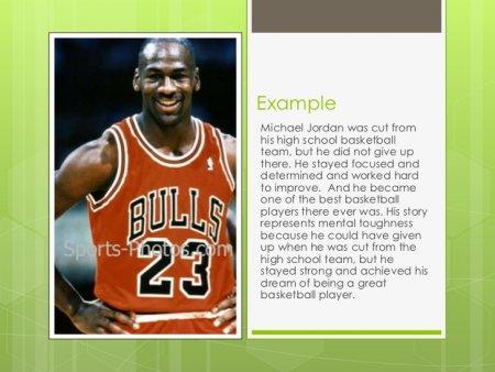 ExampleMichael Jordan