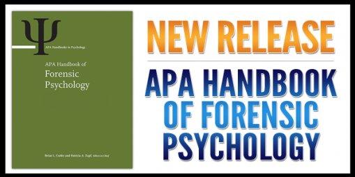New Book Release: APA Handbook