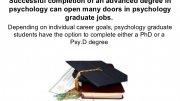 Psychology Graduate Jobs