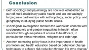 Public Health and Psychology