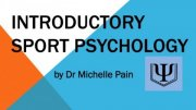 Top Sports Psychology Programs