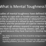Athlete Mental toughness