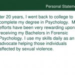 Bachelors in Forensic Psychology
