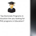 Best PHD Programs