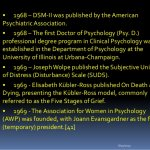 History of Clinical Psychology