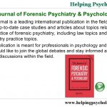 Journal of Forensic Psychology