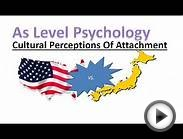 As Psychology - Cultural Perceptions Of Attachment