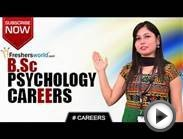 CAREERS IN B.SC PSYCHOLOGY – M.Sc,P.Hd,Psychologist,HRDM