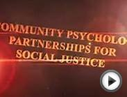 Community Psychology: Partnerships for Social Justice