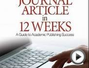 Education Book Review: Writing Your Journal Article in