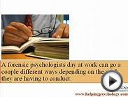 Forensic Psychology Careers