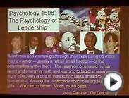 Harvard - Psychology of Leadership - 1. Introduction