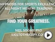 Hypnosis for Sports Greatness - ALL NIGHT MENTAL TRAINING