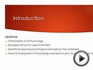 Industrial Organizational Psychology Explained