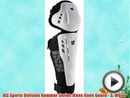 iXS Sports Division Hammer Series Mens Knee Guard - S White