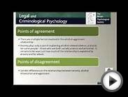 Legal and Criminological Psychology Podcast with Mary