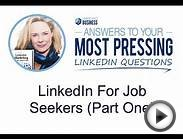 LinkedIn for Job Seekers: Part One. Do Your Research!