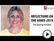 MSc Sport and Exercise Psychology UWE: The Ashes 2015