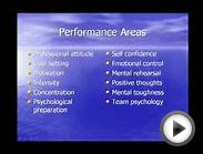 Performance Psychology for exceptional human performance