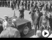 President John F. Kennedy meets Pope Paul VI in the