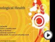 psychological health, part I