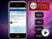 Psychology App - News, Video, Audio and Twitter