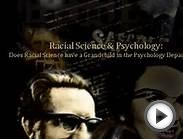 Racial Science and Psychology: Does Racial Science have a