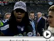 Superbowl Sports Psychology Trash Talking: Richard Sherman