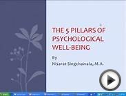 The Five Pillars of Psychological Well-Being