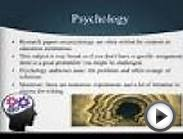 Top 10 Psychology Research Paper Topics : Free Download
