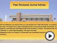 UCF Librares - Peer-Reviewed Journal Articles--Updated