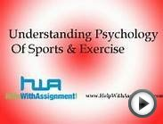 Understanding Psychology Of Sports & Exercise