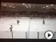 University of Denver vs. Utah State Hockey Unbelievable Goal