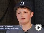 Youth Sports Baseball Player Gets Mental Toughness Training